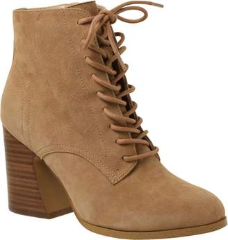 Kensie Ankle Leather Booties - Smith