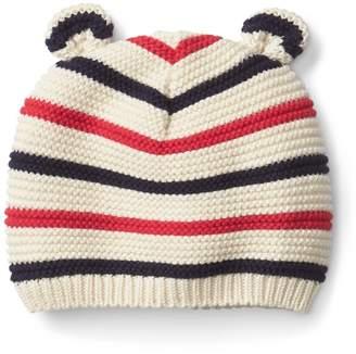 Gap Stripe Bear Hat