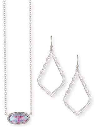 Kendra Scott Sophia Earrings & Elisa Necklace Gift Set