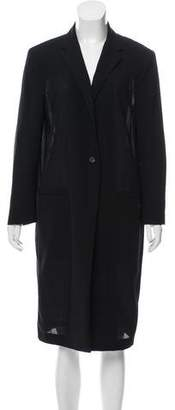 Calvin Klein Collection Lightweight Wool Coat