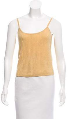 White + Warren Cashmere Cable Knit Top