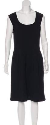 Ralph Lauren Black Label Wool Midi Dress