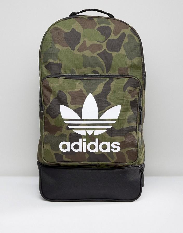 adidasadidas Originals Cross Backpack In Camo BK7211