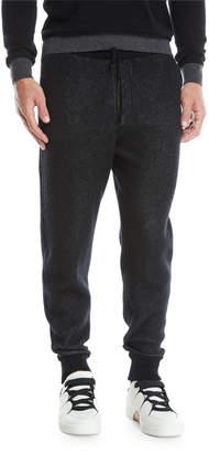 Ermenegildo Zegna Men's Knit Drawstring Jogger Pants