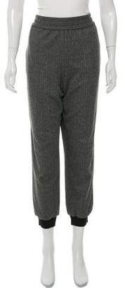 Alice + Olivia High-Rise Patterned Joggers w/ Tags