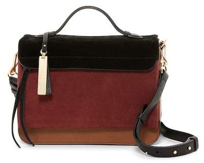 Vince Camuto Felax Leather Satchel