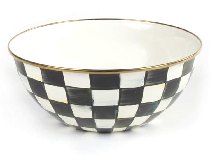 Mackenzie Childs MacKenzie-Childs Large Courtly Check Everyday Bowl