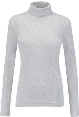 Petit Bateau Cotton-Jersey Turtleneck Top $55 thestylecure.com