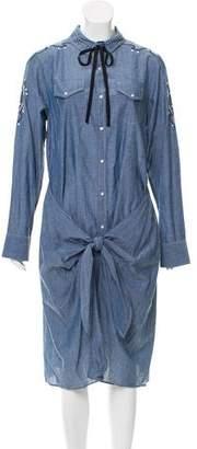 Ulla Johnson Embroidered Midi Dress w/ Tags