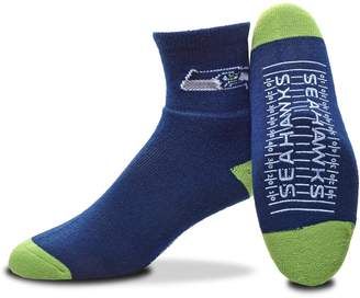 For Bare Feet Adult Seattle Seahawks Slipper Socks