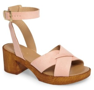 Women's Topshop Dolly Block Heel Sandal $48 thestylecure.com
