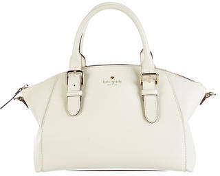 Kate Spade New York Leather Satchel $125 thestylecure.com