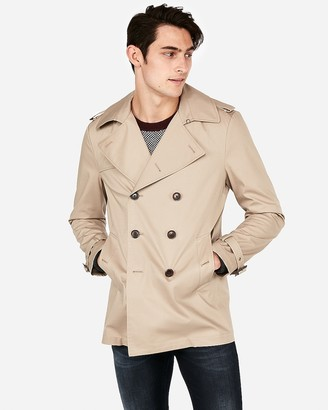 Express Tech Short Length Trench Coat