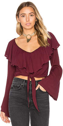 Cleobella Thelma Top in Purple $123 thestylecure.com