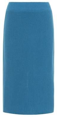 Calvin Klein Knitted cotton skirt