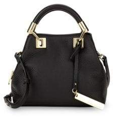 Vince Camuto Pebble Leather Satchel