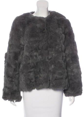 Antik BatikAntik Batik Fur Cropped Jacket