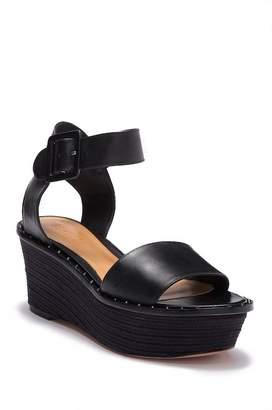 Schutz Pandor Ankle Strap Wedge Sandal (Women)