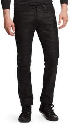 Ralph Lauren Moto Novelty Stretch Tailored Jeans