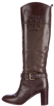 Tory BurchTory Burch Leather Mid-Calf Boots
