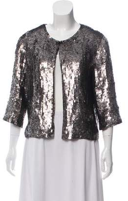 Milly Sequin Evening Jacket