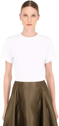 Salvatore Ferragamo Cotton Jersey T-Shirt