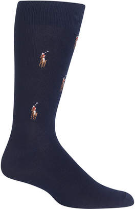 Polo Ralph Lauren Men's Socks, Polo Player Dress Crew Sock