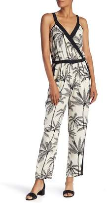 Daniel Rainn DR2 by Sleeveless Mock Wrap Jumpsuit