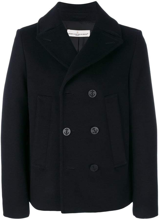 Golden Goose Deluxe Brand double-breasted jacket