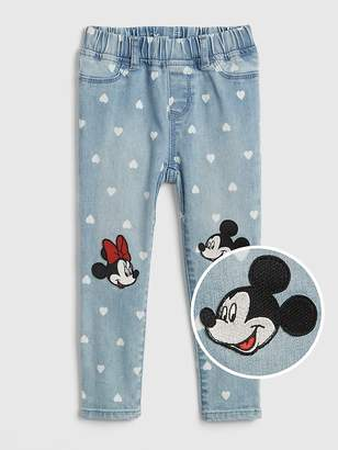 Gap babyGap | Disney Mickey Mouse and Minnie Mouse Jeggings with Fantastiflex