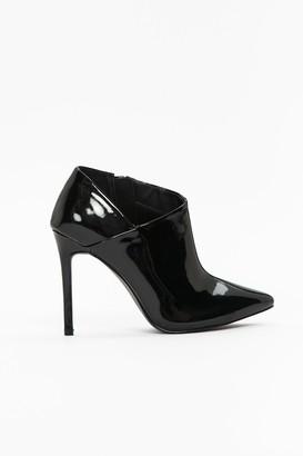 Wallis **Black High Heel Pointed Shoe Boot