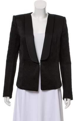 Balmain Jacquard Shawl Collar Blazer