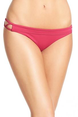 RVCA Painted Bikini Bottoms $42 thestylecure.com
