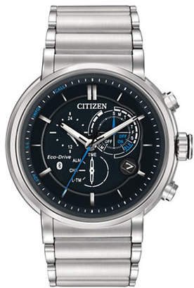 Citizen Eco-Drive Proximity Stainless Steel Multi-Function Bracelet Watch BZ1000-54E