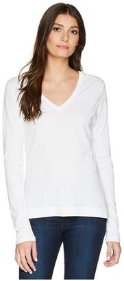 ADAM by Adam Lippes Long Sleeve V-Neck Core Tee Women's T Shirt