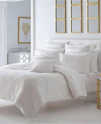 Vera Wang Trina Turk Freya White Comforter Set, Full/Queen Bedding