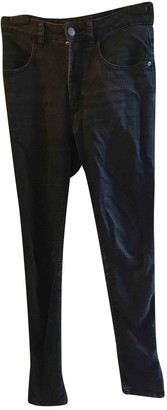Jaeger Black Cotton Trousers for Women