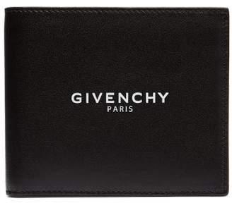 Givenchy Logo Stamped Bi Fold Leather Wallet - Mens - Black bf4fa69c2