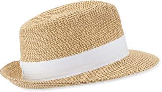 Eric Javits Squishee Classic Woven Fedora Hat