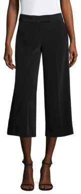 DKNY Wide Leg Cropped Pants $198 thestylecure.com