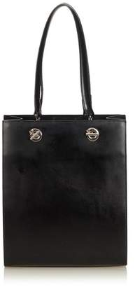 Cartier Vintage Leather Panthere Tote