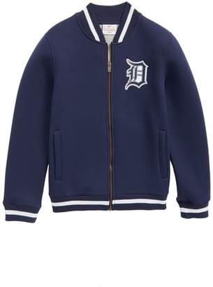Majestic MLB Classical Detroit Tigers Knit Varsity Jacket