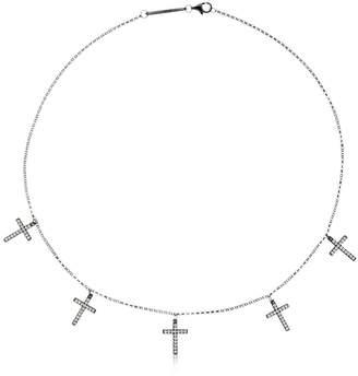 Lace Faith Mini Crystal Necklace