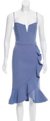 Nicholas Ruffled Midi Dress w/ Tags