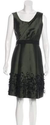 Lela Rose Dress green Dress