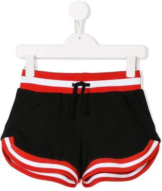 Stella McCartney contrast trim shorts
