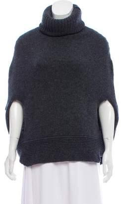 Agnona Wool Knit Cape