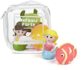 Elegant Baby Six-Piece Mermaid Party Squirties Bath Toys