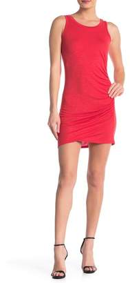 Love, Fire Ruched Side Mini Dress