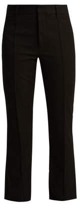 Joseph Zed Kick Flare Trousers - Womens - Black